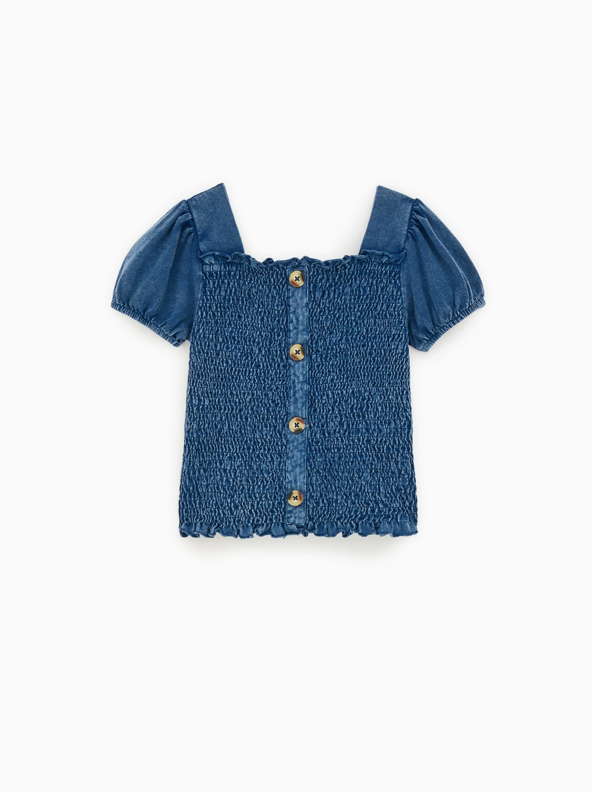 288143b196 Smocked top | Kids ss19 | Smocking, Tie dye jeans, Tie dye sweatshirt