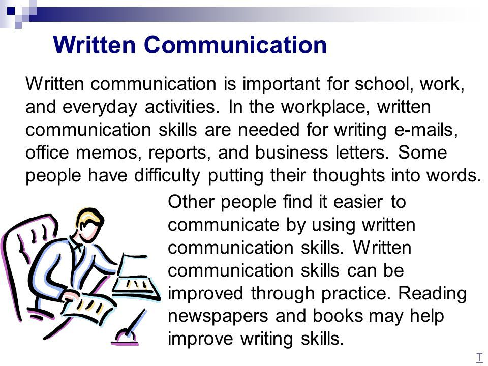 and written communication ppt | Communicate Effectively with