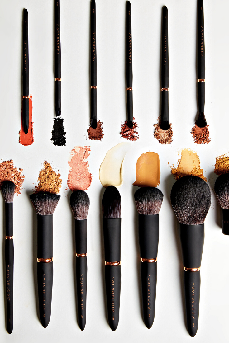 Youngblood Cosmetics Luxe Brushes in 2020 Makeup tools