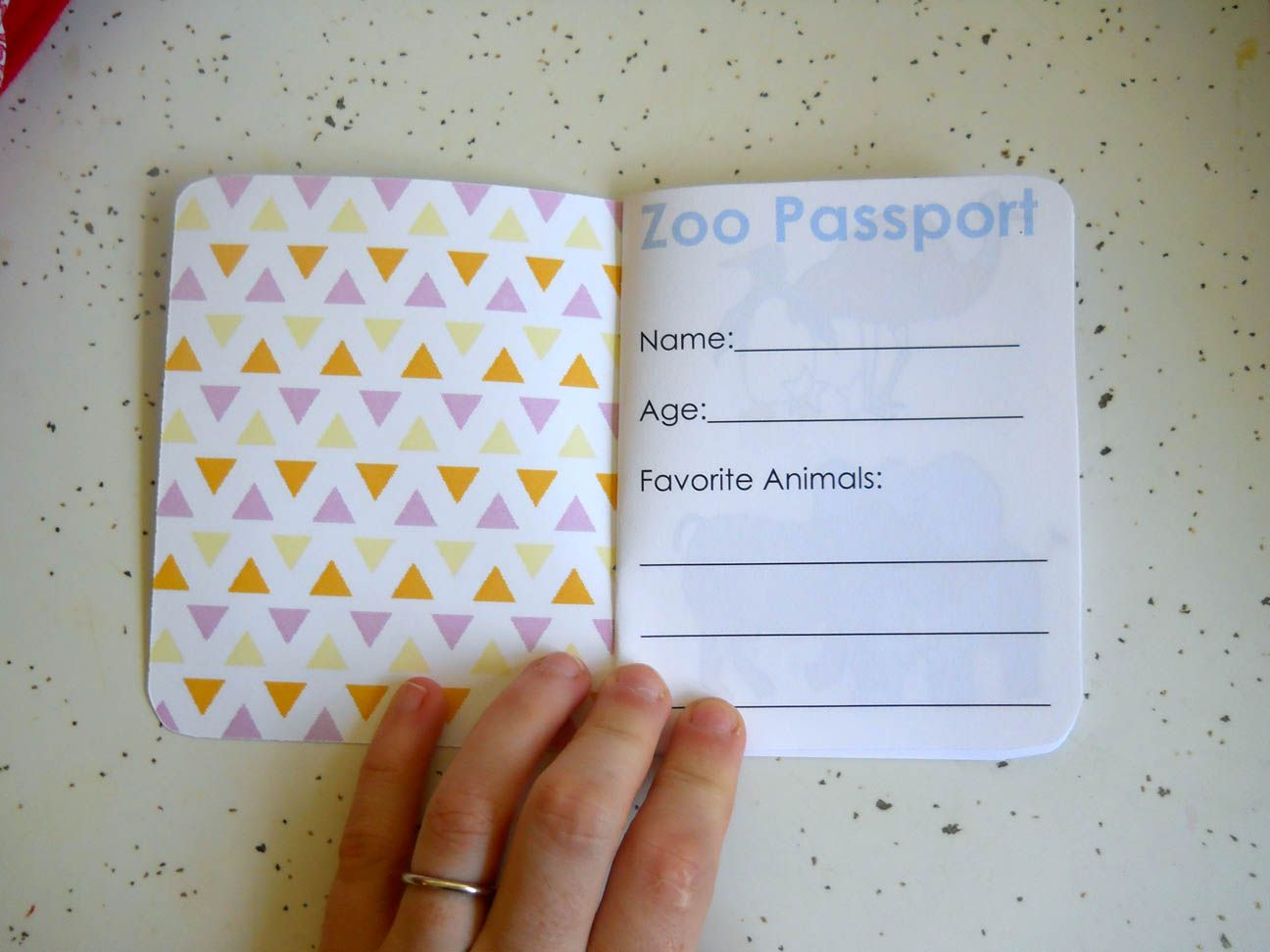 Zoo Passport I D Like To Make My Own To Put A Picture Of