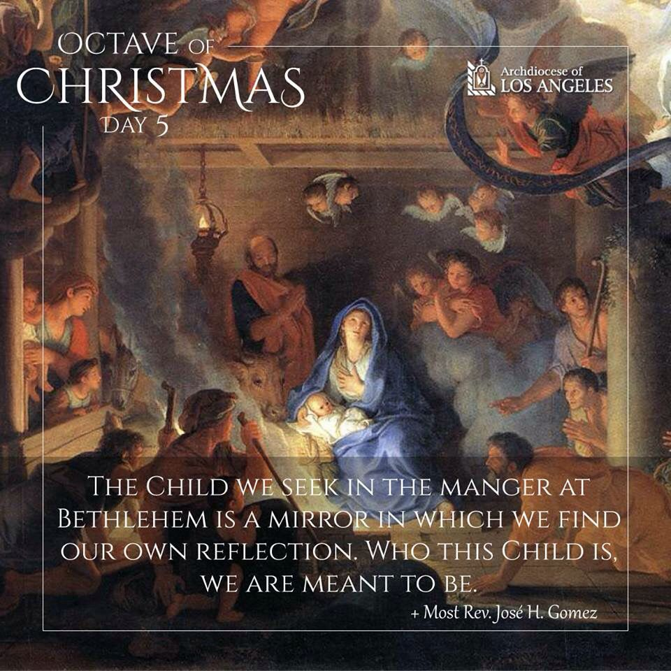 Octave of Christmas - Day 5 | CHRISTMAS SPEAKS | Pinterest ...