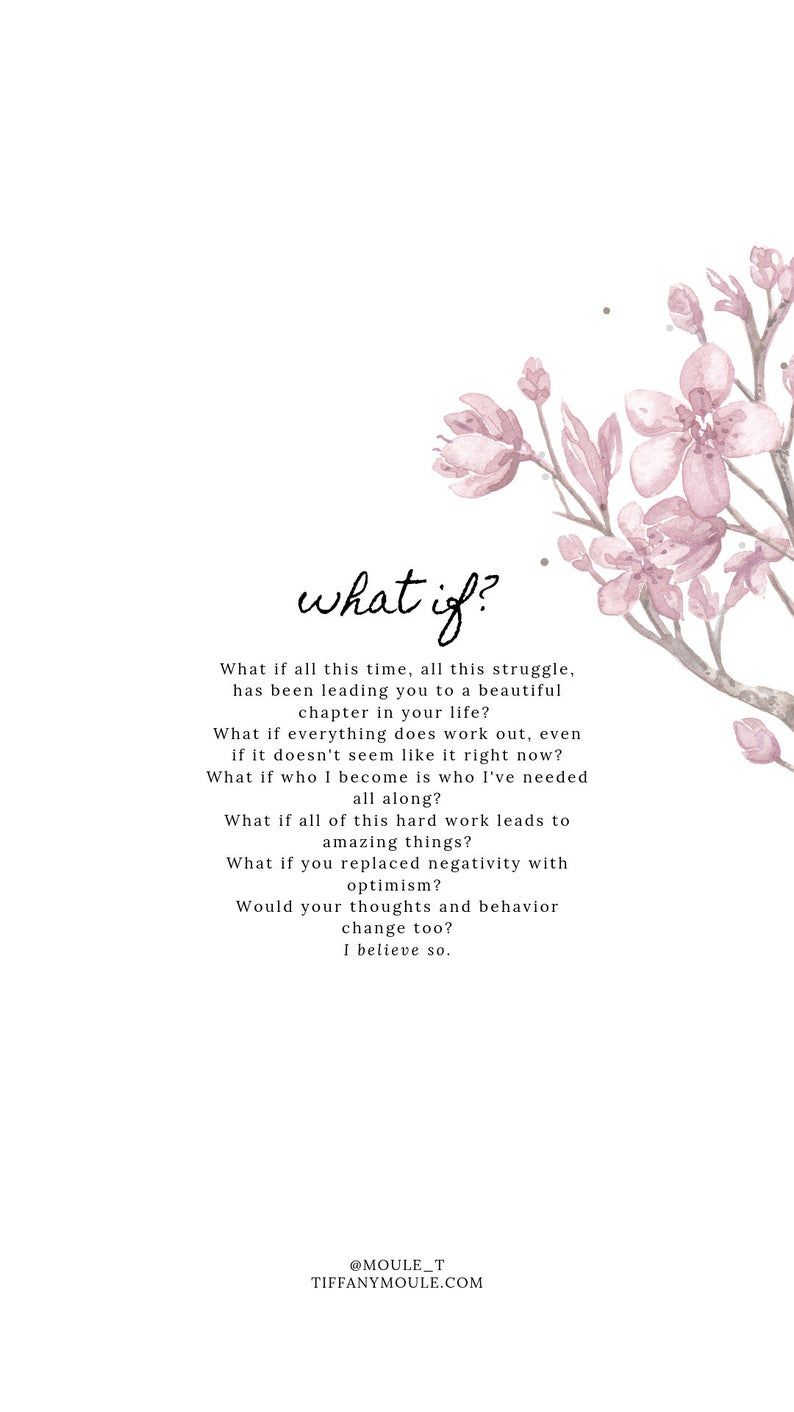 What if? Quote by Tiffany Moule