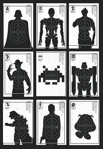 Invite Darth Vader over for target practice—as the target!