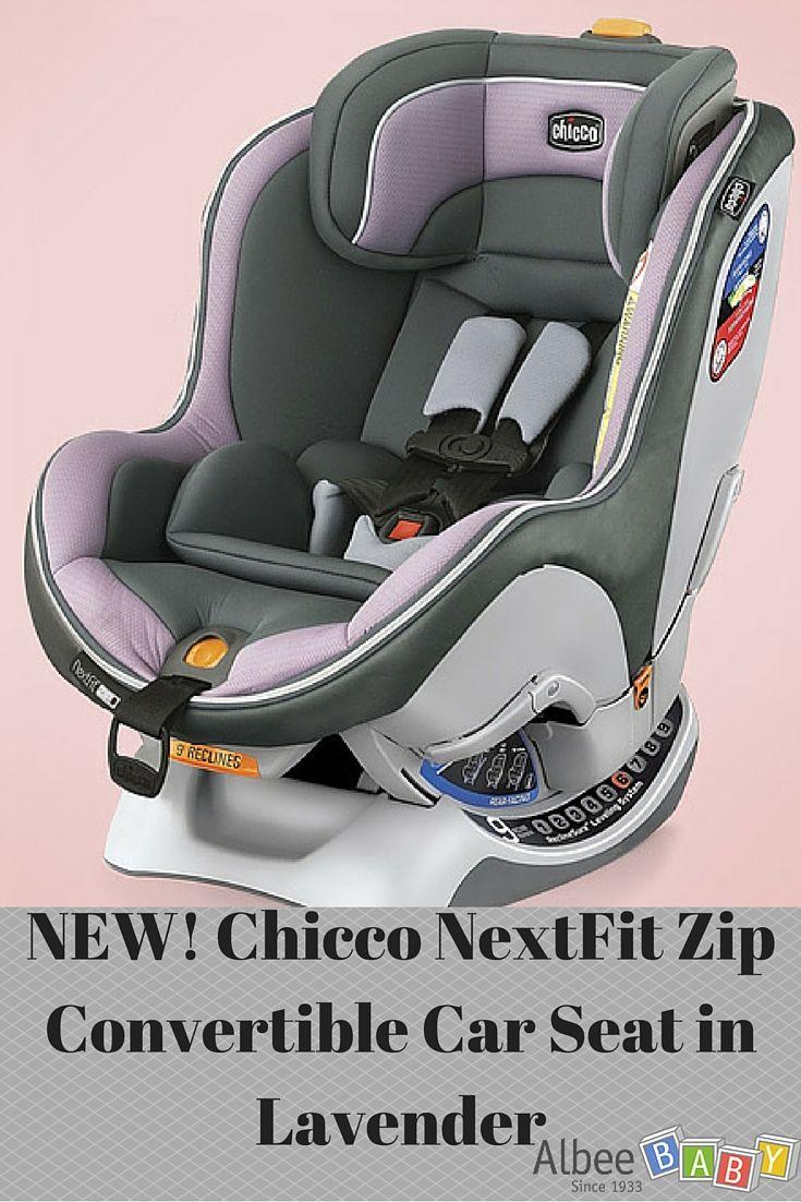 Chicco NextFit Zip Convertible Car Seat In Lavender AlbeeBaby