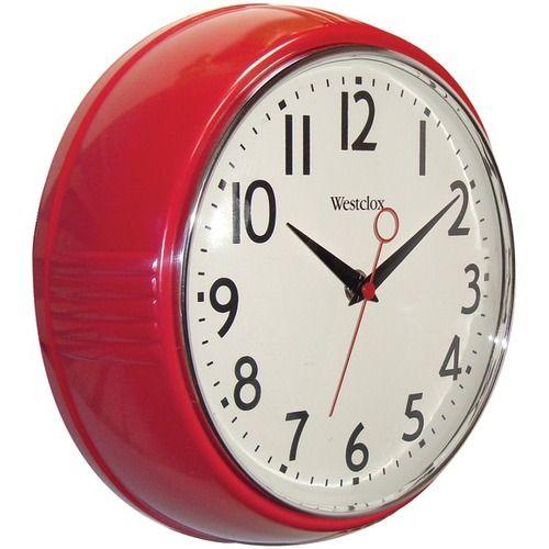 Westclox Retro Kitchen Wall Clock Products