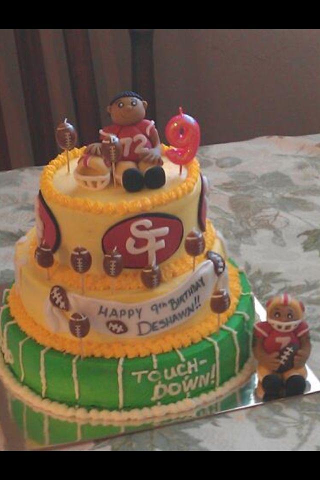 49ers Birthday Cake Cakes Pinterest Birthday Cake Cake And
