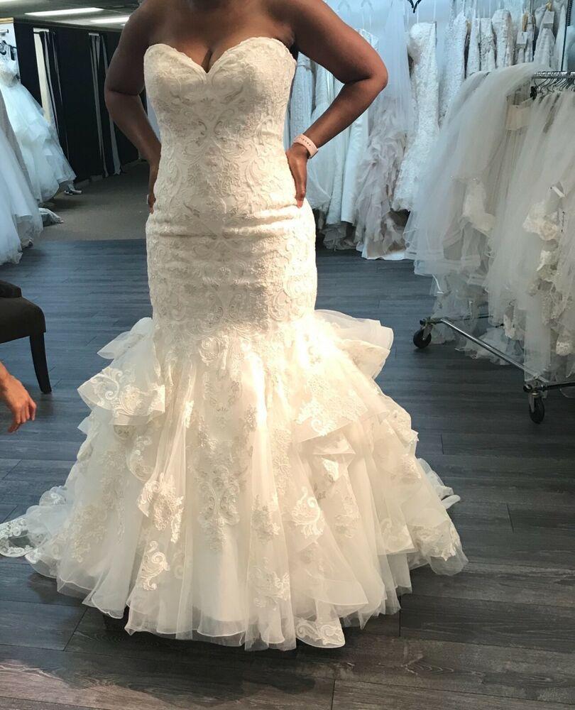 Allure Bridal Wedding Dress Ivory Silver Fashion Clothing Shoes