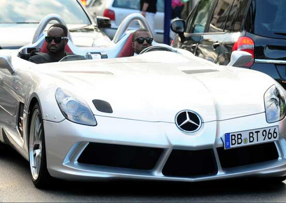 The Most Extravagant Celebrity Cars Mercedes Slr Stirling And - 1 million mercedes coolest armoured vehicle ever