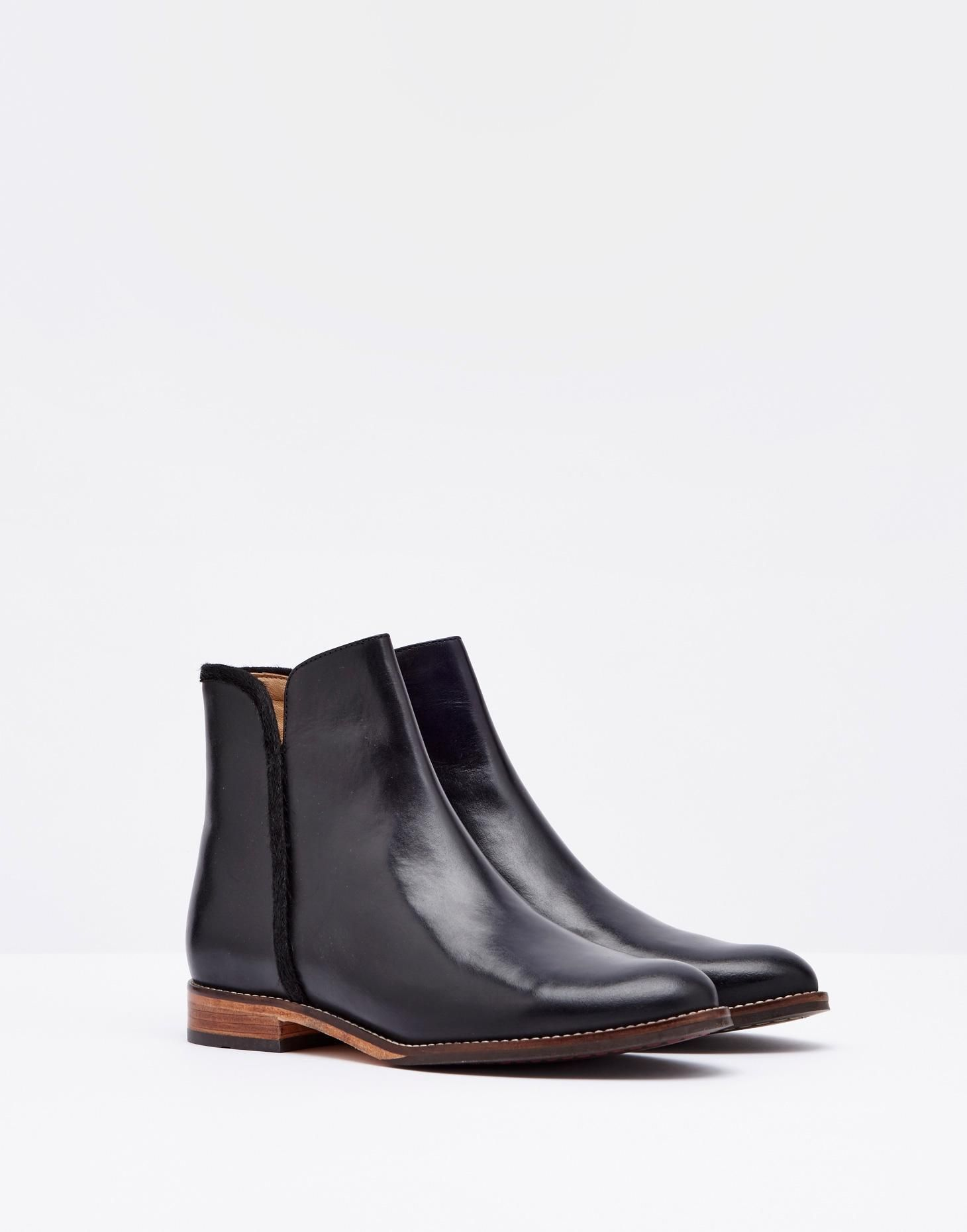 los angeles lowest discount super cute Westminster Black Ankle Boots | Joules US | Hey are you ...