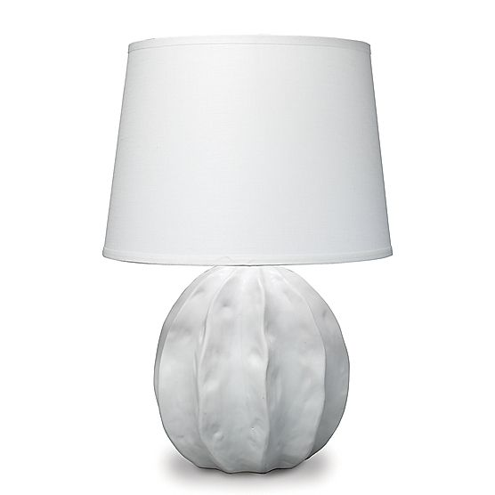 Urchin Table Lamp White | Maine Cottage