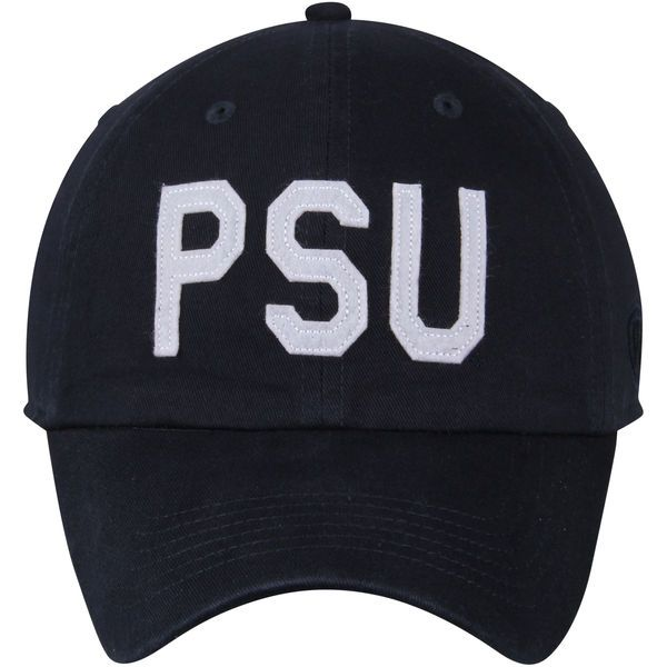 0c053f41ca4 Men s Top of the World Navy Penn State Nittany Lions District Unstructured Adjustable  Hat