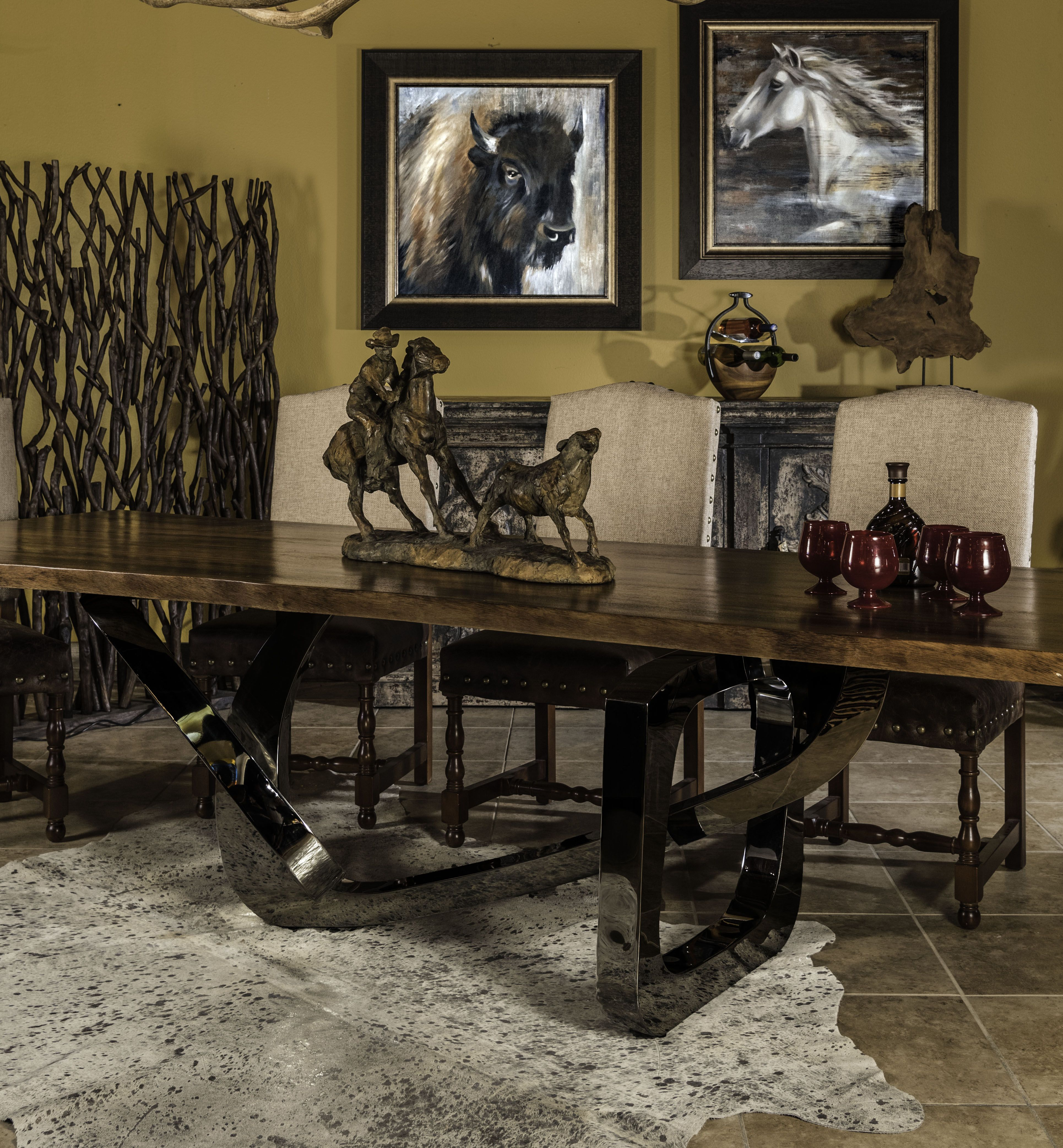 Merveilleux High Quality Custom Dining Furniture In Fort Worth | AdobeInteriors.com |  Adobe Rustic Furniture| Fort Worth, Texas