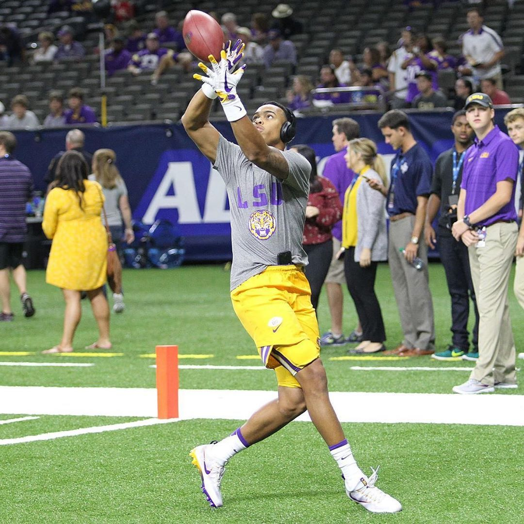 LSU DB Mannie Netherly has entered his name in the NCAA