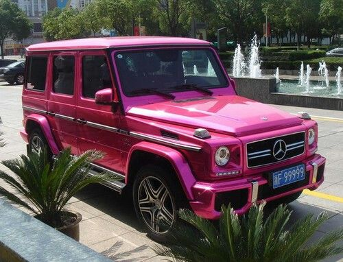 Pink Mercedes G Class New Luxury Cars Super Luxury Cars Mercedes Jeep