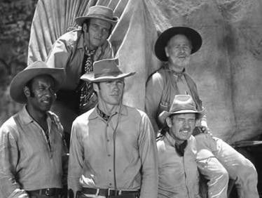 rawhide cast | TV ACRES: Westerns > Rawhide (starring Eric Fleming ...