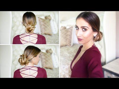 10 Perfect Low Bun Hairstyles Youtube Hair Pinterest Low