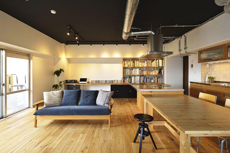 No 0344 Tokoza 吹き抜けのある家族が感じあえる座のldk 一戸建て リフォーム マンションリフォームならlohas Studio ロハススタジオ Presented By Okuta オクタ 和風の家の設計 ホームデコレーション インテリアアイデア