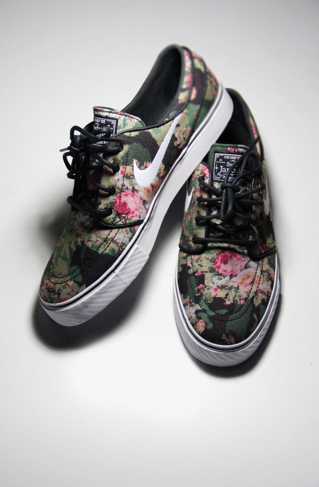 damenMännerschuhe floralSchuhe Nike SB Janoski Stefan 2WDHIE9