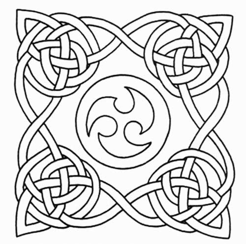 graphic about Printable Celtic Stencils known as absolutely free printable celtic stencils Celtic Knot tattoo stencil