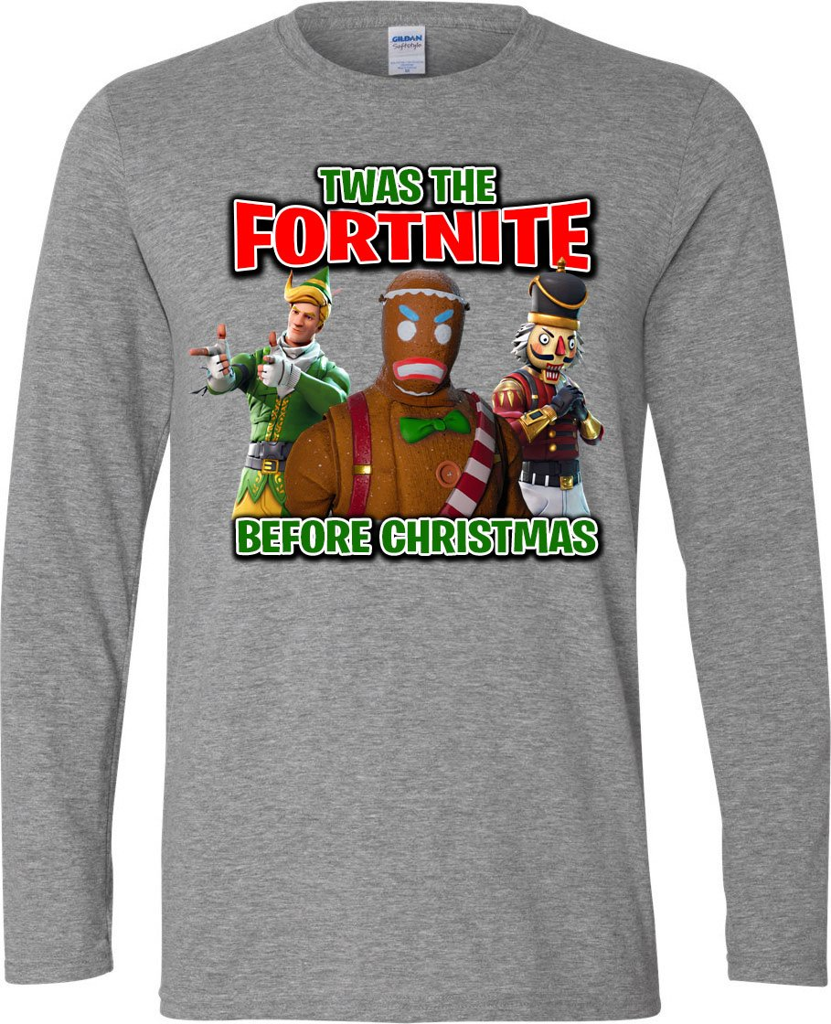 ae14acef Fortnite Christmas Shirt | Products | Christmas shirts, Shirts, T shirt