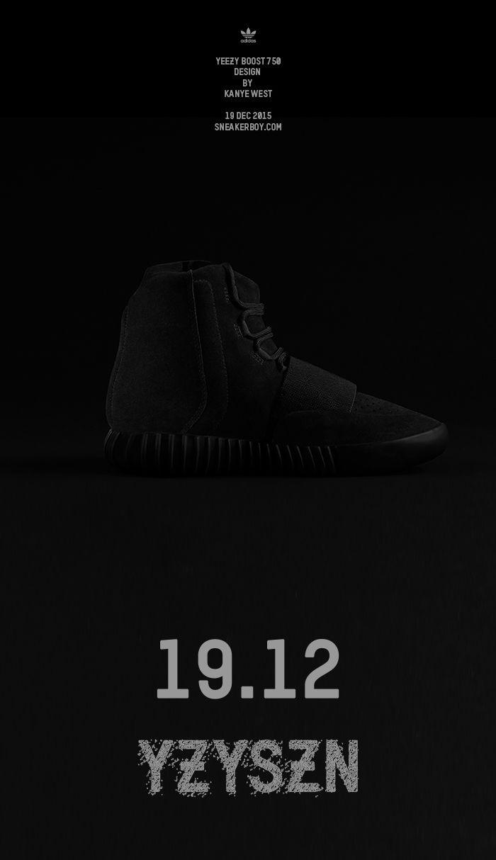 yeezy 750 boost black