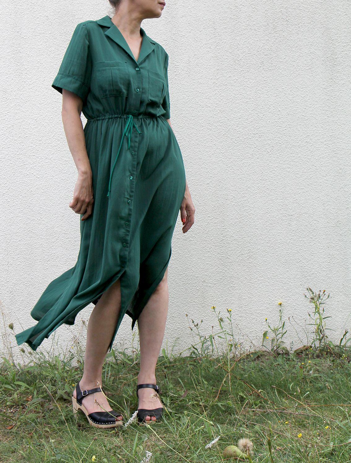 90d8c1fbb44 Reeta midi shirt dress de Named clothing I Jolies bobines | sewing ...