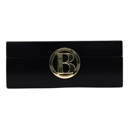 Fashion Acces Bazaar Initial Jewelry Box Ltr A In Black Initial