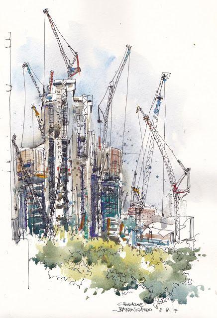 The Dance of the Cranes – Barangaroo Development, Sydney