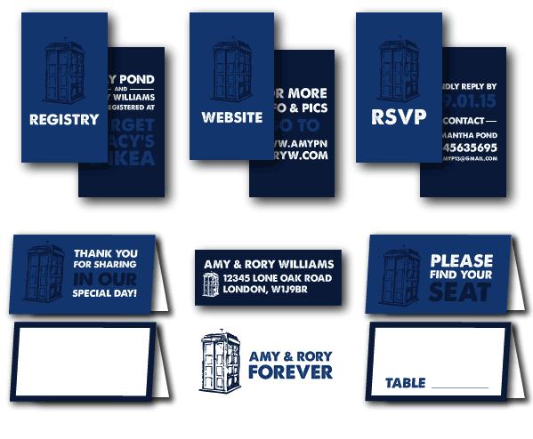 Doctor who wedding invitations stopboris Gallery