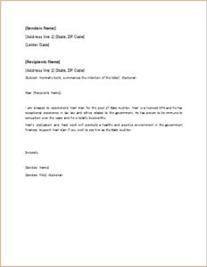 Endorsement Letter DOWNLOAD At Http://www.templateinn.com/40