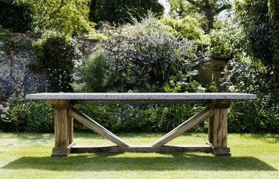 Elias Table From Oxenwood Outdoor Furniture England Garden Furniture Picnic Table Table