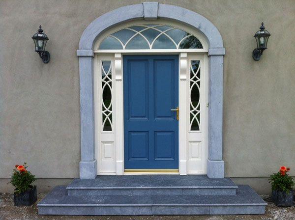 Manor Stone Door Arches Stone Door Surrounds Granite Door Surrounds Ireland Arched Front Door Portico Manor Stone