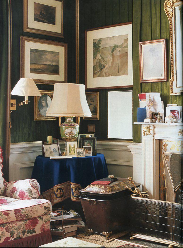 Chatsworth House Interior Layout: Robert Hadley : The World Of Interiors, October 2001