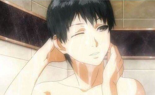 Kaneki Ken In The Shower