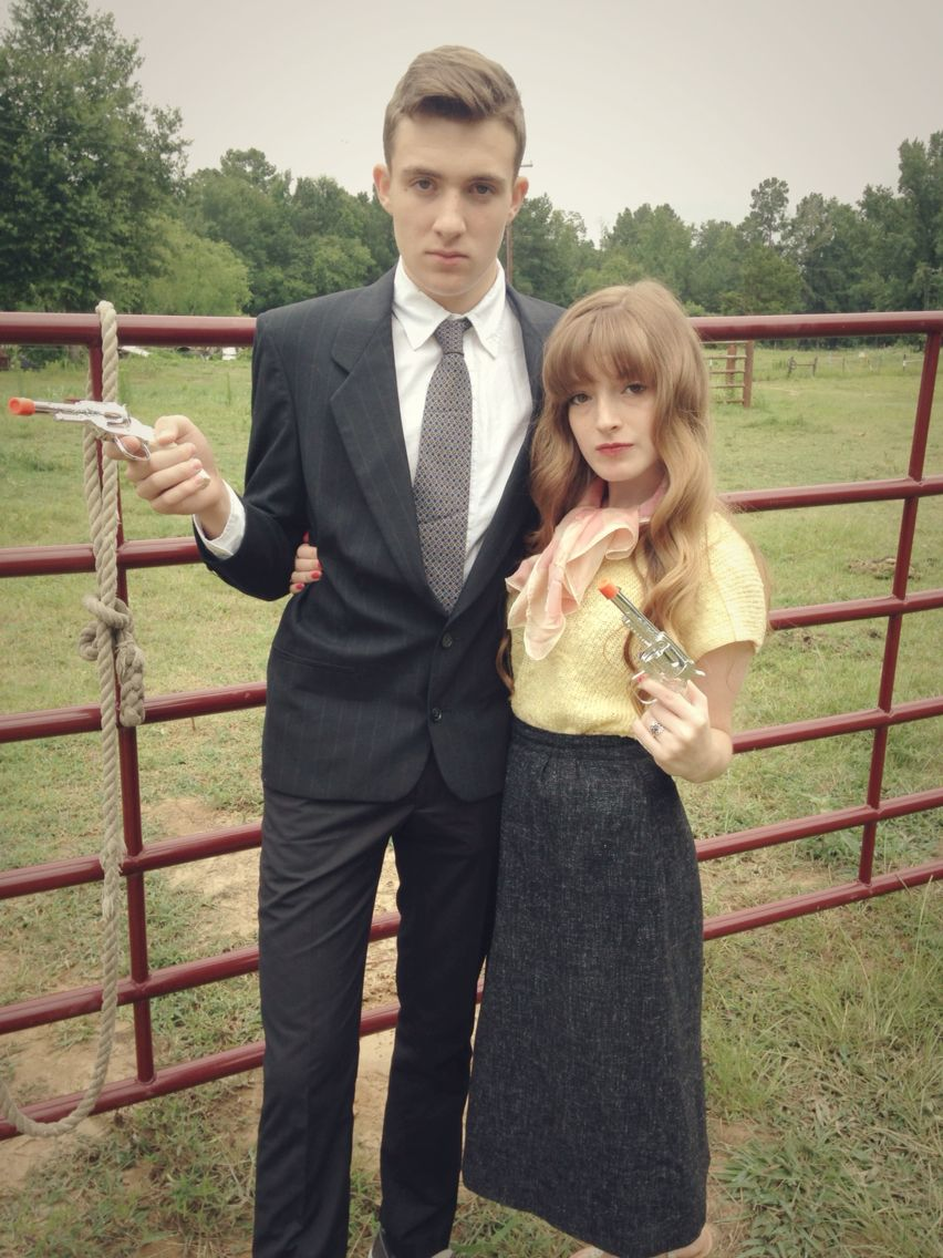 Bonnie and Clyde Halloween Costume! A great couple costume ...