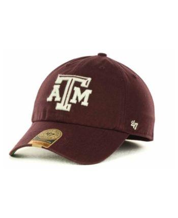 online retailer 86b42 d8990  47 Brand Texas A M Aggies Franchise Cap - Red M