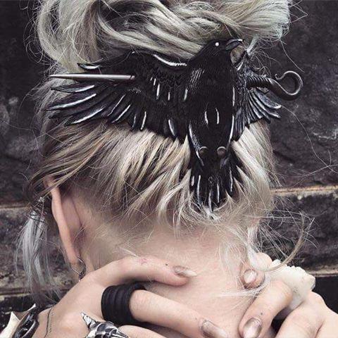 Accesorios para el cabello rockeros