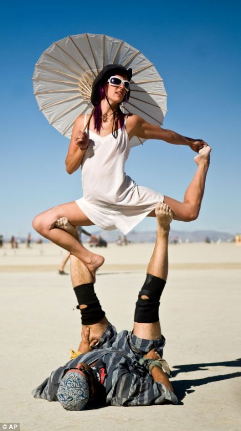 Burning Man Loved and Pinned by www.downdogboutique.com to our Yoga community boards