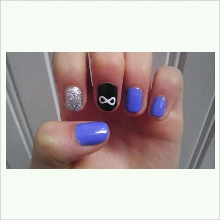 Infinity nails so cute!!! Love it | Nails | Pinterest | Infinity ...