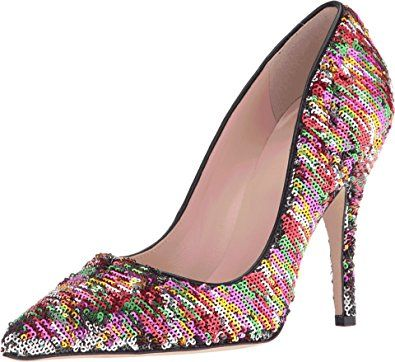 Amazon.com: Kate Spade New York Women's Licorice Too Pump: Shoes
