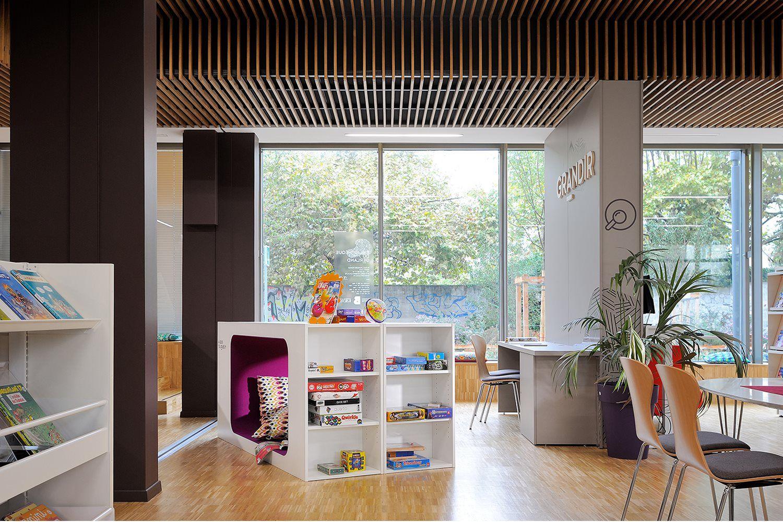 Modern · Modern Library FurnitureLoungeLounge ...