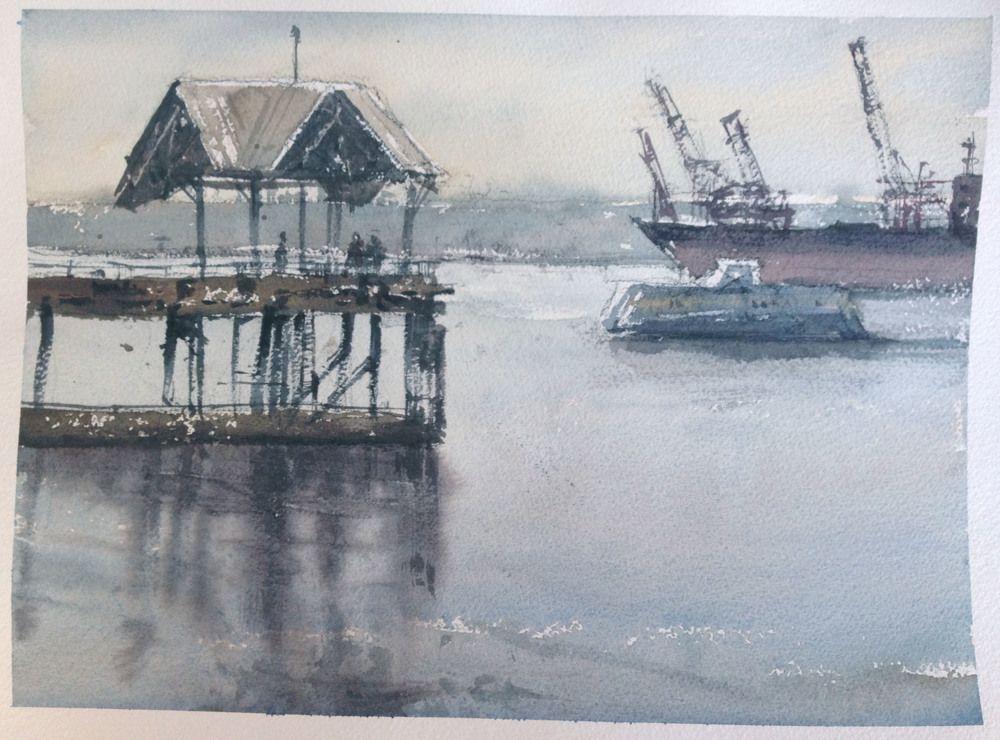 Experiencia en el taller My Chien Chung-Wei, pt. 4- Mis pinturas y críticas - Expresión perfecta