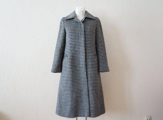 Vintage 60s Tailored Wool Coat