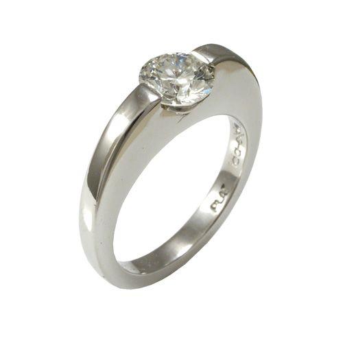 Sara White Gold Diamond Engagement Rings Rings Jewelry