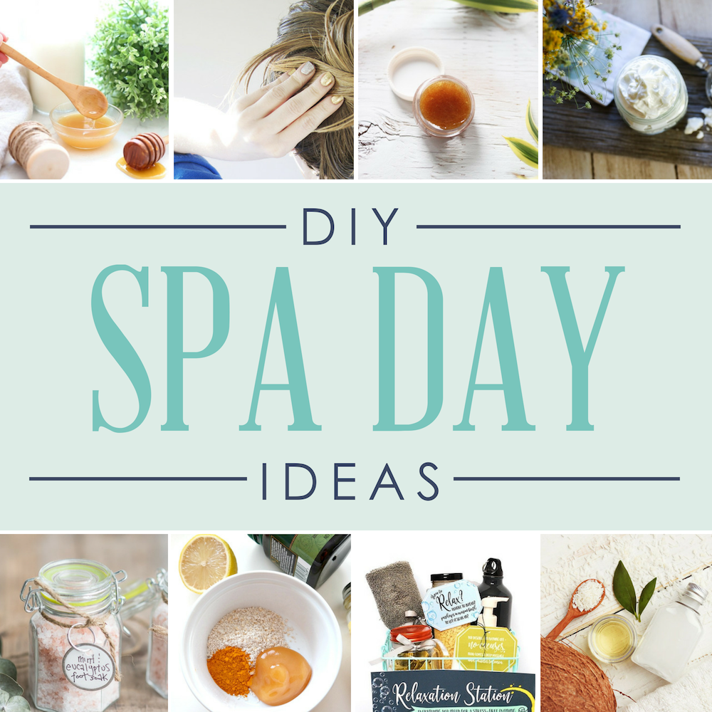 At Home Spa Day Ideas And Recipes Spa Day Spa Day At Home Diy