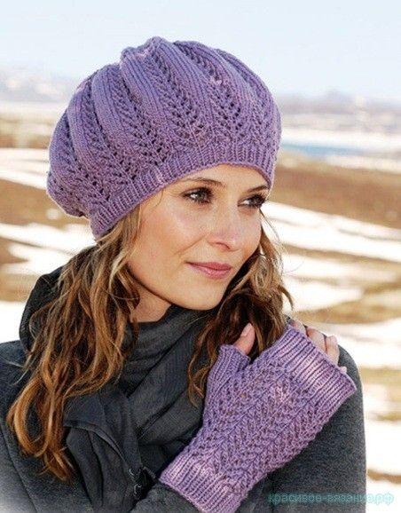 Журналы вязания шапок и шарфов на спицах