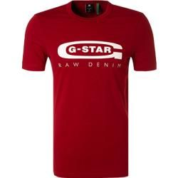 G-star Herren T-Shirts, Slim Fit, Baumwolle, rot G-Star #graphicprints