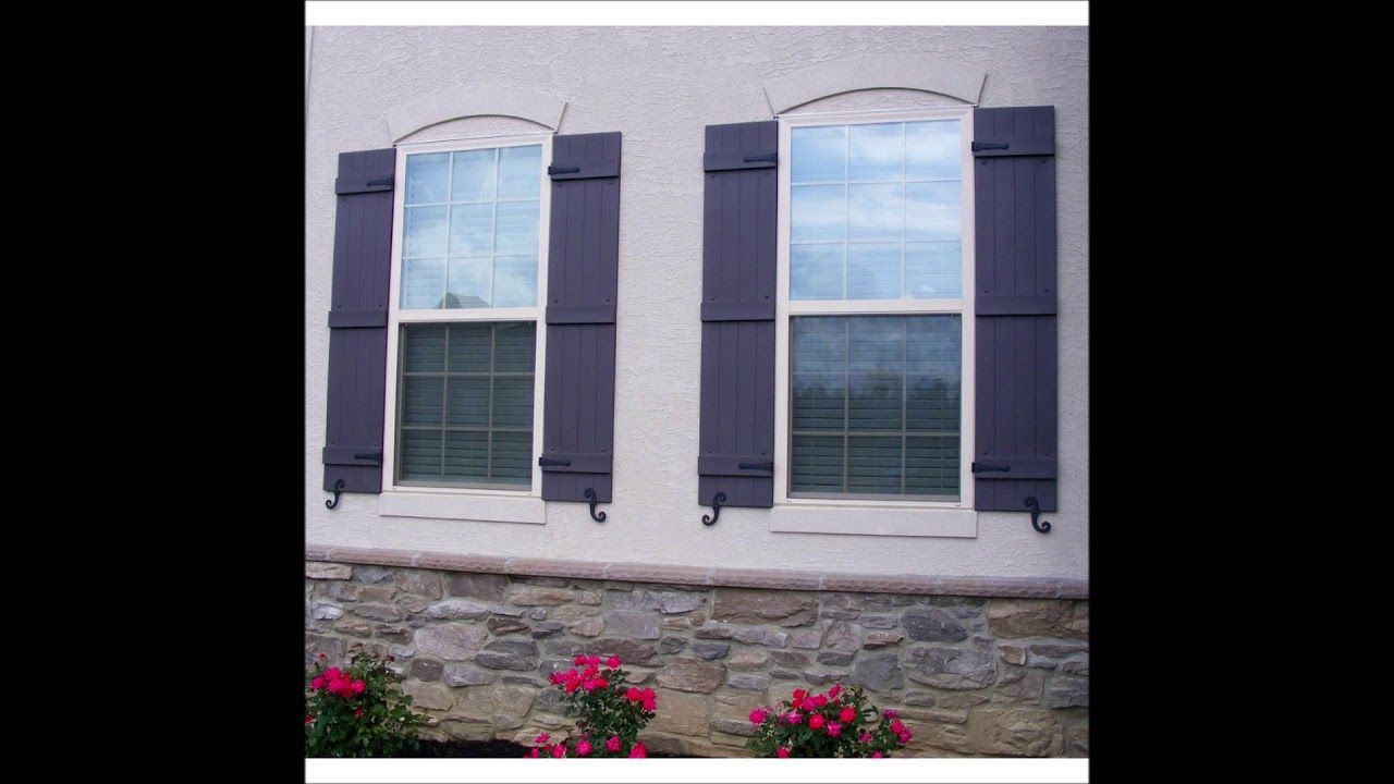 Exterior window shutter installation and cost in lincoln