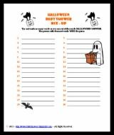 Halloween Themed Baby Shower Games.Spooky Halloween Themed Baby Shower Games Baby Shower Baby