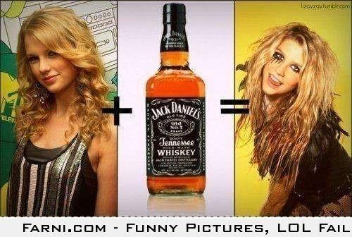 Taylor Swift Jack Daniels Kesha Taylor Swift Ke Ha Kesha